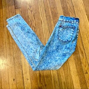 BDG Urban Outfitters Acid Wash Jegging